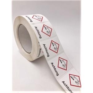 Gefahrstoffetiketten - GHS