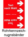 Rohrkennzeichnungsbänder online kaufen